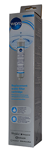 Wpro External In-line Water Filter Cartridge 484000008553 - Compatible with Samsung, GE, LG, Whirlpool and Liebherr
